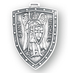 Sterling St. Michael Shield